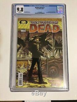 The Walking Dead #1 CGC 9.8 Image Robert Kirkman 1st Print