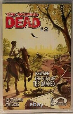 The Walking Dead #1 CGC 9.8 Near Mint/Mint NM/M. First (1st) issue. NO RESERVE