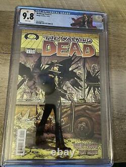 The Walking Dead #1 CGC 9.8 (Oct 2003, Image)