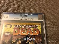 The Walking Dead #1 CGC 9.8 RARE BLACK LABEL Grail! 10/03 First Print