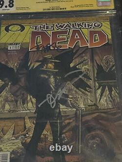 The Walking Dead #1 CGC 9.8 Signed By Robert Kirkman And Tony Moore