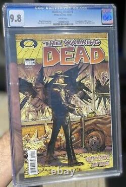 The Walking Dead 1 CGC 9.8 White Pages Image Comics 2003 First App Rick Grimes