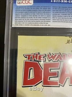 The Walking Dead # 1 CGC 9.8 White pages! Image Comics 2003 Beautiful copy
