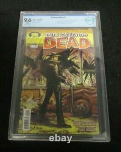 The Walking Dead #1 Image Comics Cbcs Graded 9.6 1st Print Rick Carl 1st Appear
