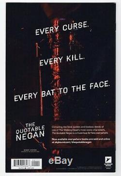 The Walking Dead #1 NM, Chris Burnham The Last Wine Variant Rare See Pics