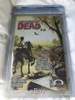 The Walking Dead #1 (Nov 2003) CGC 9.6 1st Print RARE Black Comic MINT Original