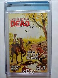 The Walking Dead #1 (Oct 2003, Image) CGC 9.4 First Print