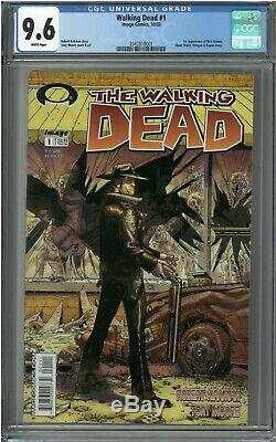 The Walking Dead #1 (Oct 2003, Image) CGC 9.6 White 1st Rick Grimes