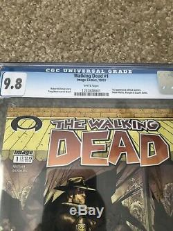 The Walking Dead #1 (Oct 2003, Image) CGC 9.8