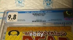 The Walking Dead 1 cgc 9.8 first print 2003