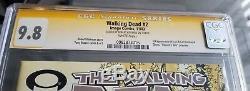 The Walking Dead #2 9.8 CGC Signature Series