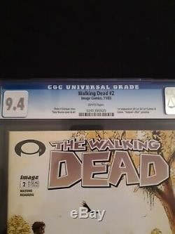The Walking Dead # 2 CGC 9.4