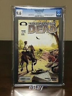 The Walking Dead #2 CGC 9.6 FIRST PRINT