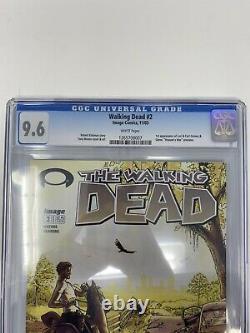 The Walking Dead #2 CGC 9.6 First Print! (Nov 2003, Image)