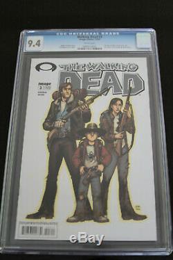 The Walking Dead #3 CGC 9.4