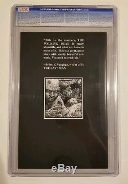 The Walking Dead 4 Cgc 9.9 Highest Grade Only 2 On Census Rare (not 9.8)