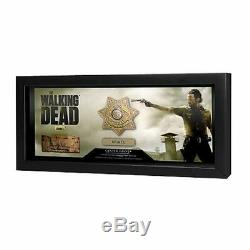 The Walking Dead AMC TV Series Sheriff Rick Grimes Badge Prop Replica