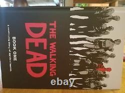 The Walking Dead Books #1-12 HARDCOVER VOLUMES. Very excellent condition