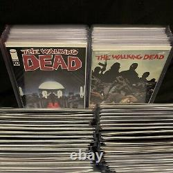 The Walking Dead Comic Book Collection 131 Issues 1st Prints Bag & Board