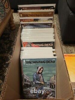 The Walking Dead Comic Book Lot 141-192 includes 136-138 Robert Kirkman Image