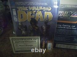 The Walking Dead Comic First Appearance Of Michonne #19, Signed By Rob Kirkman