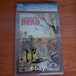 The Walking Dead Comic Issue #1 CGC 9.6 white mature readers label