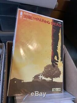 The Walking Dead Comic Lot (almost Full Run!)-202 Comics From Issues 1-193