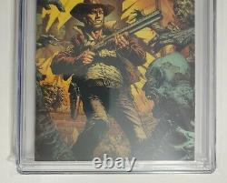 The Walking Dead Deluxe #1 CGC 9.8 Black Foil Finch Cover Limited to only 200