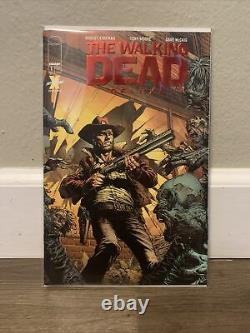 The Walking Dead Deluxe #1 Ruby Red Foil Variant NM/M High Grade Sealed