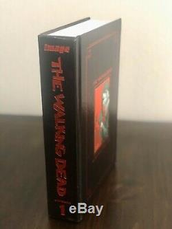 The Walking Dead HC Compendium Vol 1 SDCC Exclusive Red Foil Kirkman SIGNED