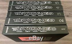 The Walking Dead Hardcover Omnibus Lot 1-5 #3 Signed By Robert Kirkman Skybound