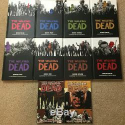 The Walking Dead Hardcover Vol 1 2 3 4 5 6 7 8 Omnibus + Graphic Novels 17 & 18
