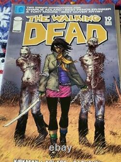 The Walking Dead Issue 19 Michonne's first appearance in the comics