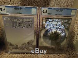 The Walking Dead Lot 2-193 Complete First Print Set! Many CGC Graded. Awesome