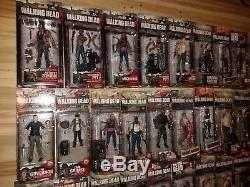 The Walking Dead MCfarlane Toys action figure collection