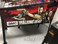 The Walking Dead (Pro) Pinball Machine. Stern. COLOR DMD SHAKER MODS 2014