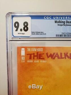 The Walking Dead Set #192 & #193 CGC 9.8 NM/MT Last 2 Issues Image Comics