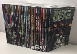 The Walking Dead Volume #1-29 Trade Paperback Complete Set NM/MT Kirkman
