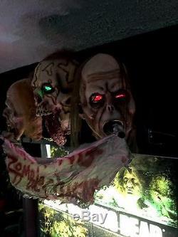 The Walking Dead Zombie Pinball Machine Topper