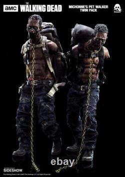 The Walking Deadmichonne & Twin Pet Walkerssixth Scale Figuresthreezeromib