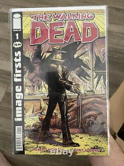 The walking dead comic book lot HUGE
