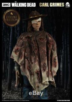 Threezero amc The Walking Dead CARL GRIMES Deluxe Version 1/6 Action Figure