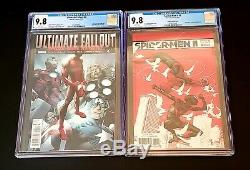Ultimate Fallout 4 & Spider-Men II 1 150 Tedesco1st App of Both Miles9.8