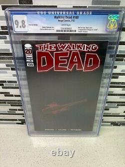 WALKING DEAD #100 CGC 9.8 RED FOIL LOGO EDITION 1st NEGAN & LUCILLE GLENN DEATH