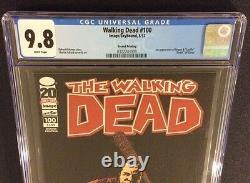 WALKING DEAD #100 Comic Book CGC 9.8 DEATH GLENN 1st NEGAN 1st Cover 2nd Print