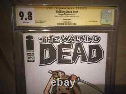WALKING DEAD #109 SKETCHED by Larry Welz CHERRY as MICHONNE one of a kind