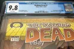 WALKING DEAD #1 (Image 2003) - Robert Kirkman - CGC 9.8