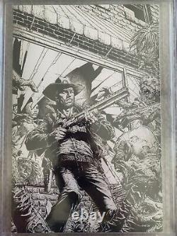 WALKING DEAD DELUXE 1 CCG 9.8 FINCH VARIANT Sketch Cover Limited 250