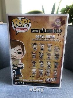 WALKING DEAD Daryl Dixon Funko Pop 9 10 Bloody Toy Tokyo Ld 300 Grail Vaulted
