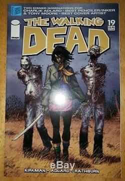 Walking DEAD # 19, NM- 9.0, Michonne 1st Appearance, very low print run, very rare